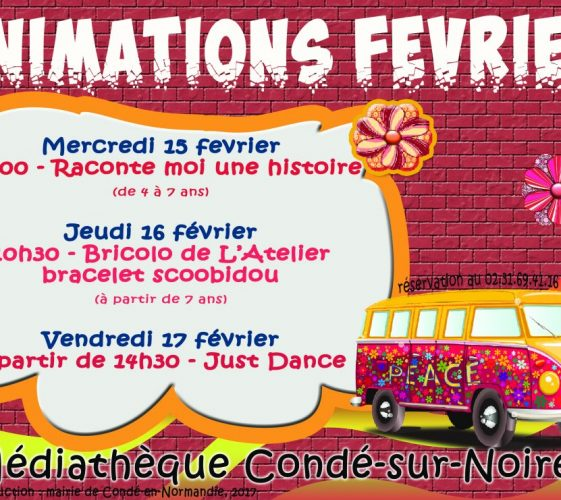animations fevrier 2017