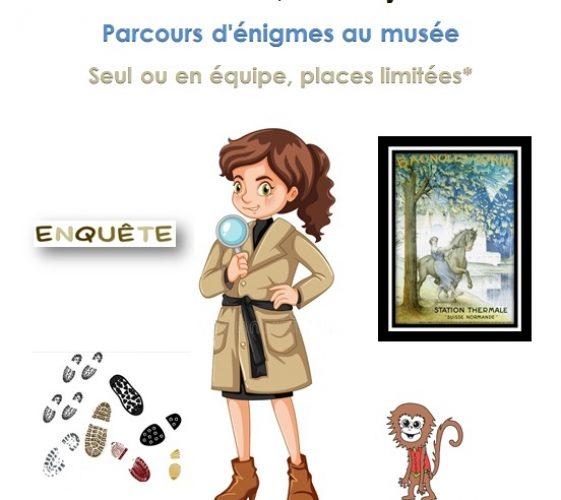 Affiche Enigmes au musée (1)