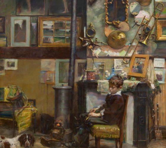 L'atelier de l'artiste (18)86 - pastel - PRO BD